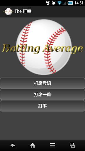 The 打率