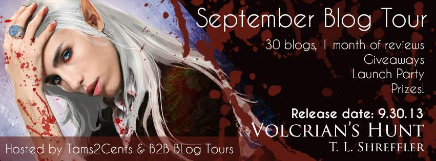 {ARC Review+Giveaway} Volcrian's Hunt by T.L. Shreffler
