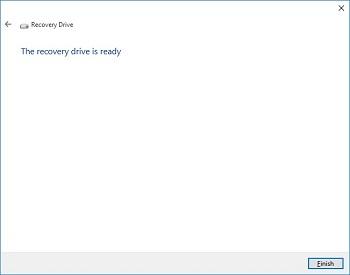Tạo USB/DVD phục hồi