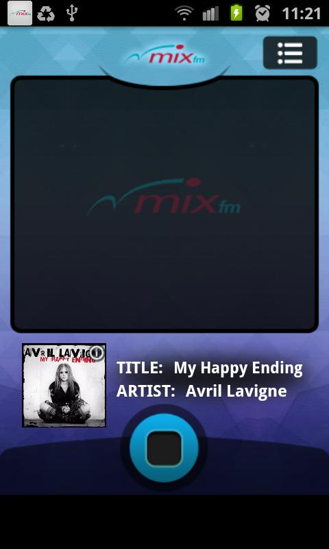 MIX fm - screenshot
