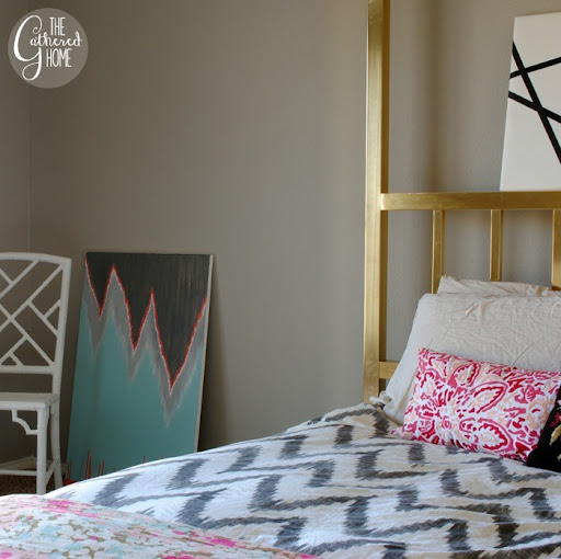 Trend Painted Master Bedroom