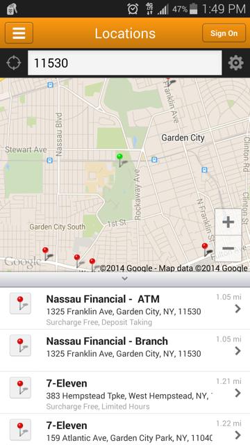 Nassau Financial Federal CU - screenshot