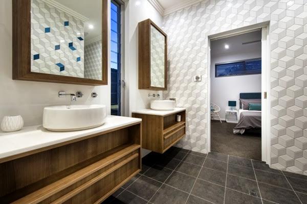 baño-moderno-revestido-con-papel-pintado