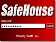 SafeHouse – Creare un'area protetta da password dove mettere file privati e segreti