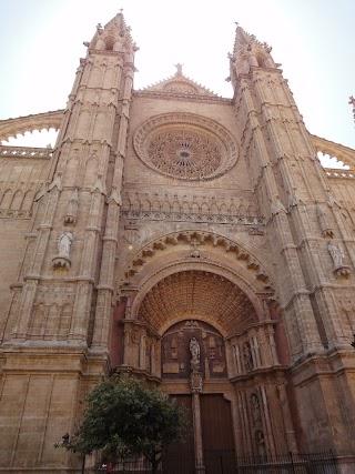 Cathédrale de Palma de Majorque - Portail Mirador