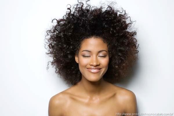 Produtinhos para cabelos crespos