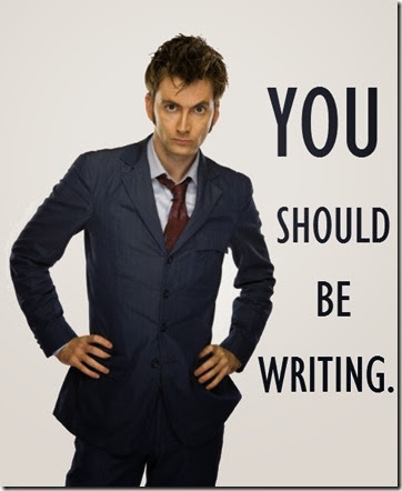 You Should be Writing 10th Doctor