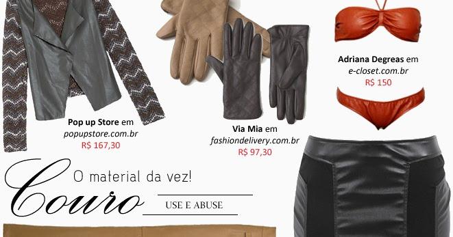 b1e1ea384 Moda em Couro: Roupas e acessórios femininos para compor a produção. |  Maria Vitrine - Blog de Compras, Moda e Promoções em Curitiba.
