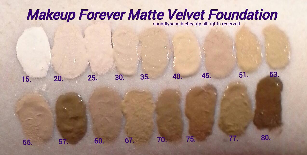 Makeup Forever Mat Velvet Foundation In Shade 40 Makeup
