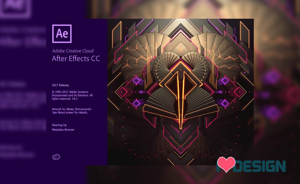 Tải phần mềm After Effect CC 2017 v14 full cờ rắc mới nhất