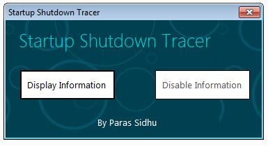 startup-tracer