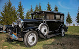 "Klubo ""Klasika"" narių technika - Oldsmobile F29 Landau Sedan-Delux, 1929 m."