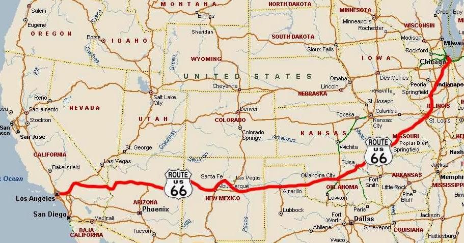 Die berühmteste Straße der Welt - Die Route 66