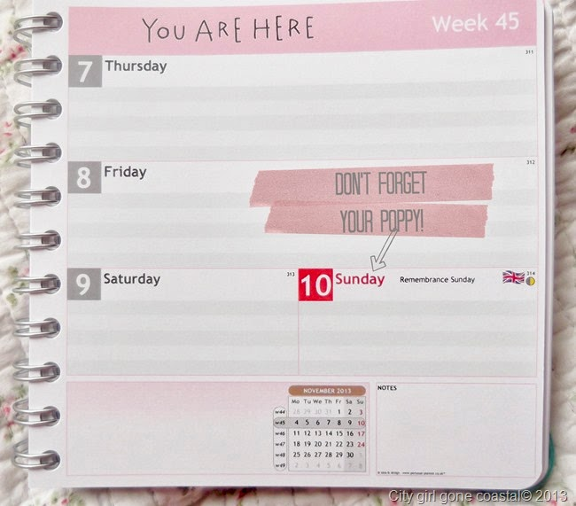 personal planner dont forget, diary