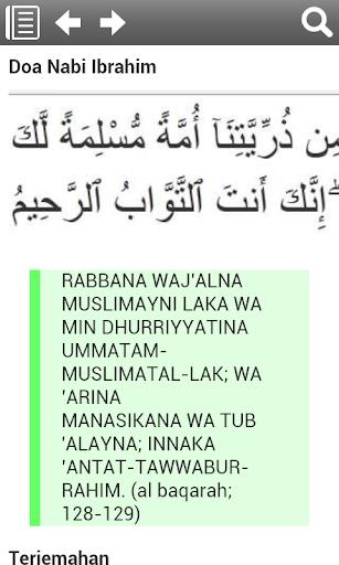 Kumpulan Doa Nabi dan Rasul