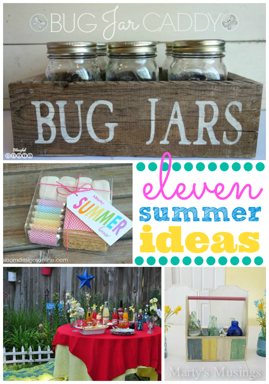 11 Summer Ideas #gingersnapcrafts #feature_thumb[1]