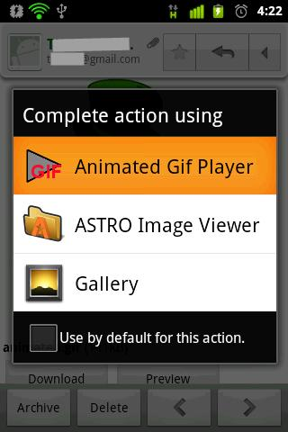 GIF Animation Player - screenshot