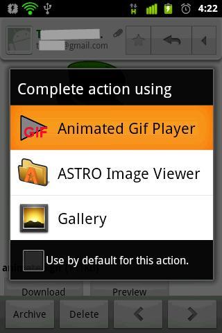 GIF Animation Player - screenshot