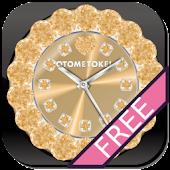 [FREE]CUTE CUSTOM QLOCK Gold