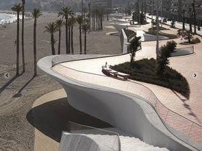 arquitectura y diseño Paseo Marítimo