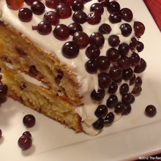 Champagne Grape Cake Recipe
