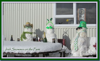 irish snowmen on the farm May 2013 framed