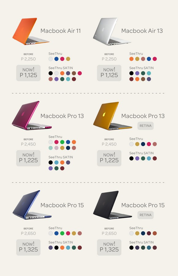 50% Off on All Speck MacBook Cases at Beyond the Box