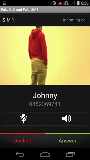 假電話假&SMS