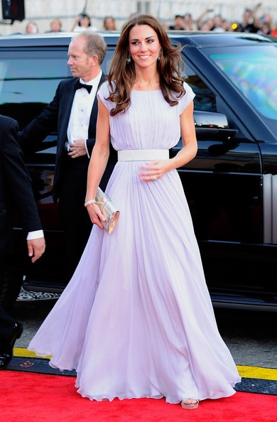 Catherine, Duchess of Cambridge arrives at the BAFTA Brits To Watch event