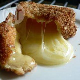 Deep Fried Camembert Wedges