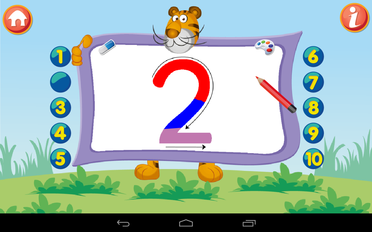 Kids Math Count Numbers Game - screenshot