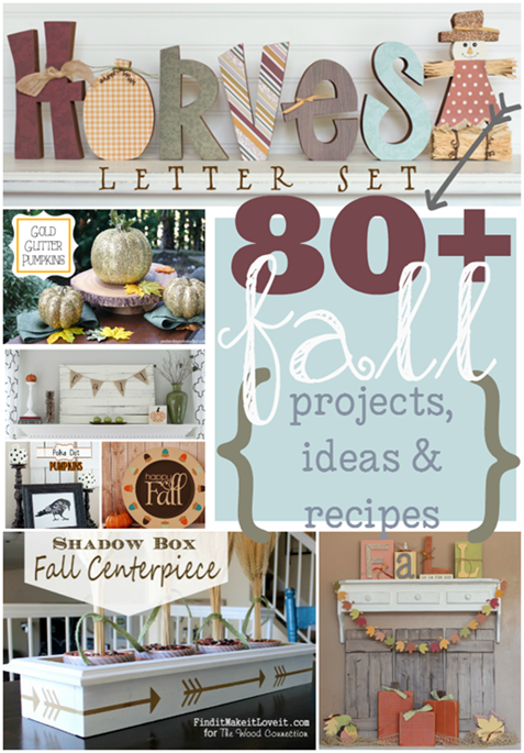 80  Fall Projects, Ideas & Recipes at GingerSnapCrafts.com #linkparty #features #fall_thumb[2]