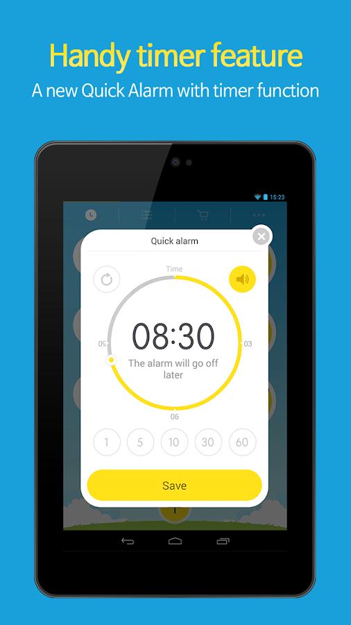 AlarmMon ( alarm clock ) - screenshot