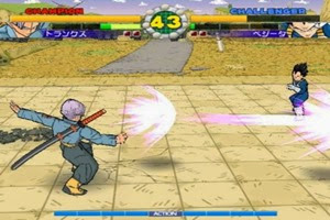 dragon ball z ultimate battle 22 luta