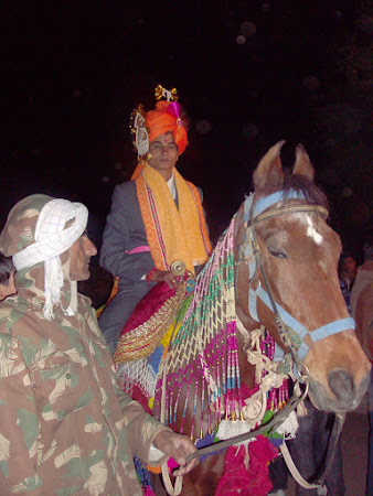 Nunta India: mirele calare