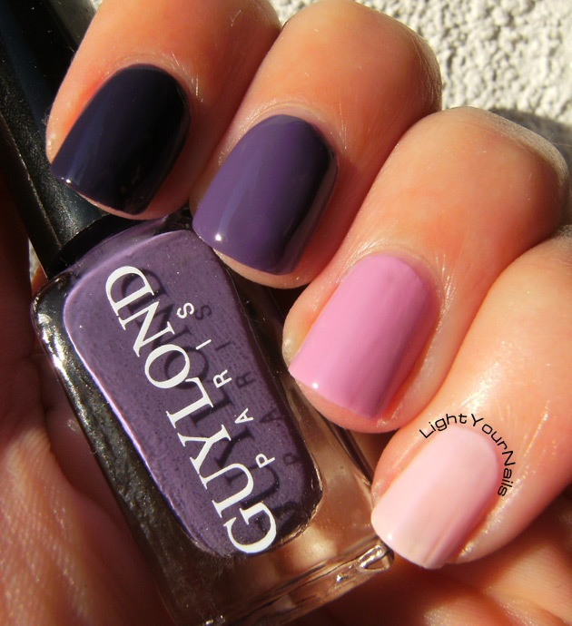 Guylond purple ombre set