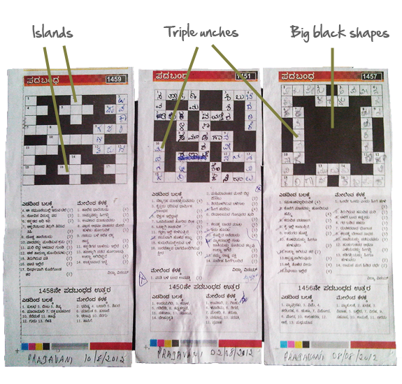 prajavani-crossword-grids