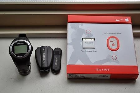 Nike + iPod, Garmin Forerunner 50