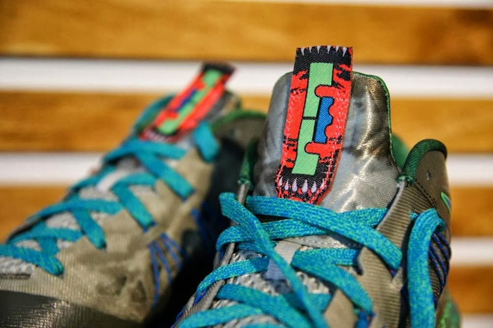 official photos e7530 a1ba6 Release Reminder Nike Air Max LeBron X Low 8220Swamp Thing8221 ...