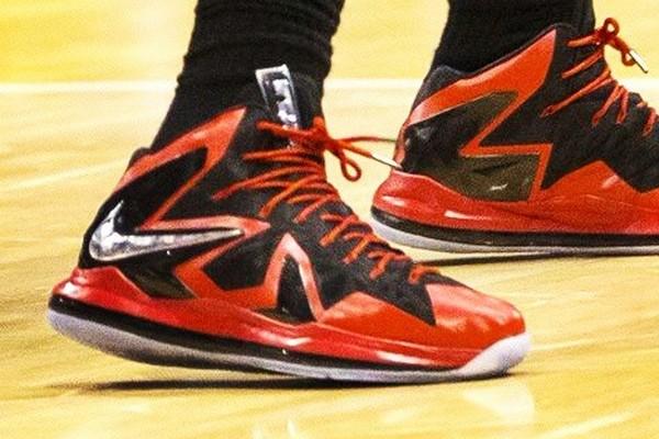 2015 Online Nike LeBron X P.S Elite Killer Elite Black Red