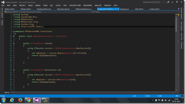 VisualStudioDarkTheme