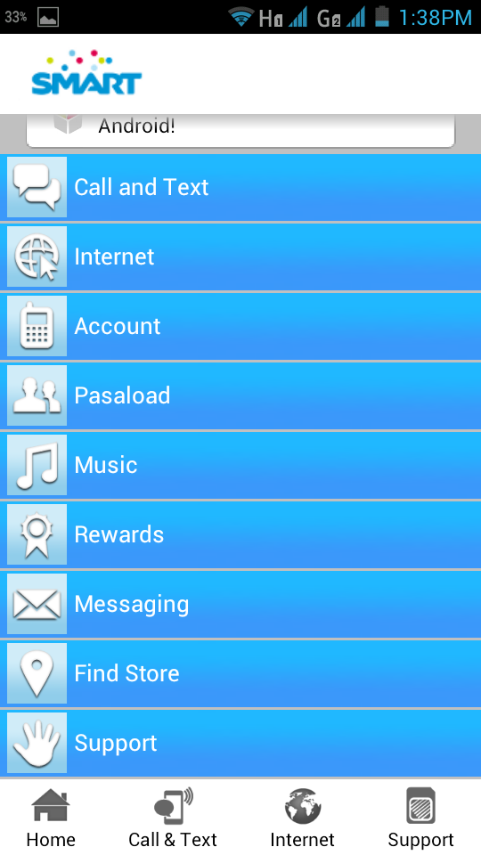 smart services app android 3