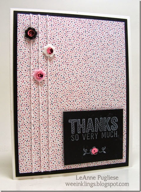 LeAnne Pugliese WeeInklings Simply Wonderful Stampin Up
