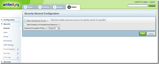 Pranab's scrapbook: Configuring Artifactory to use