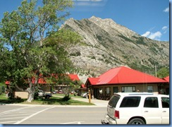 1390 Alberta - Waterton Lakes National Park - town of Waterton - view from Subway as we ate lunch