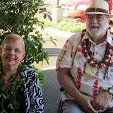 Council Chair Gladys Baisa and V Chair Bob Carroll
