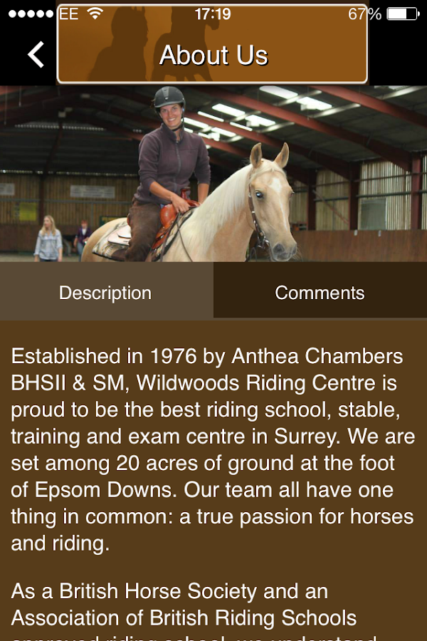 Wildwoods Riding Centre- screenshot