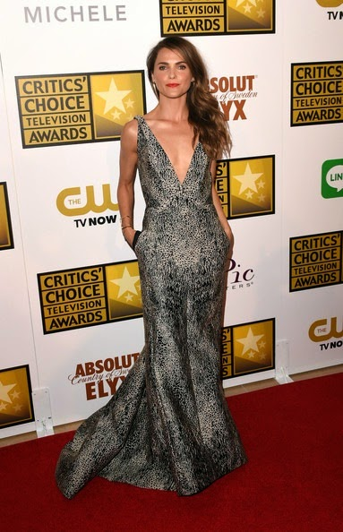 Keri Russell Arrivals Critics Choice Television Awards