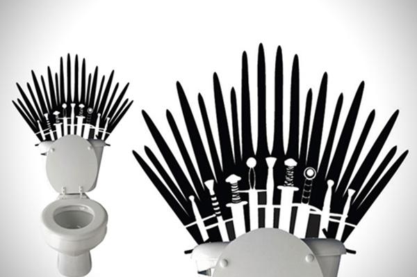 Mon Smartphone est tombé dans les toilettes game of thrones