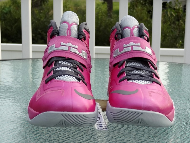 ... Nike Zoom LeBron Soldier VII 8211 Kay Yow Think Pink ... 0b6a971a6